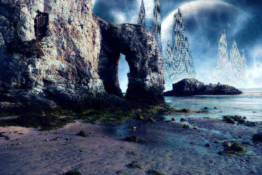 Alien world in a dream