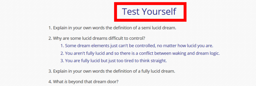 How To Learn How To Lucid Dream