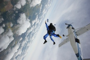 Dreams about skydiving