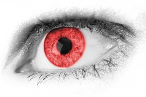 is lucid dreaming dangerous,a red eye,dangerous,danger