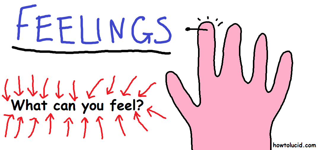 Touch is used in the ssild technique