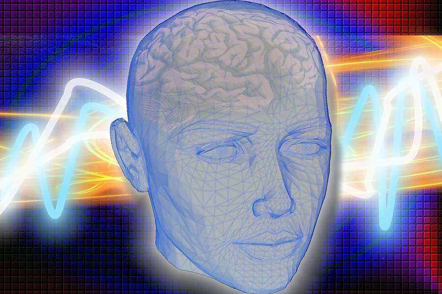 A brain being rewired to wake up at a different time