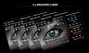 Lucidity board game dreamer cards