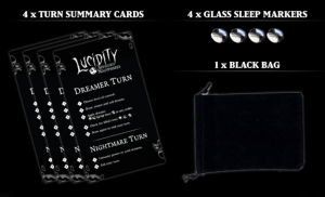 Dreamer cards lucidity board game